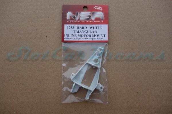 NSR Motorhalter IL Triangular Hard White