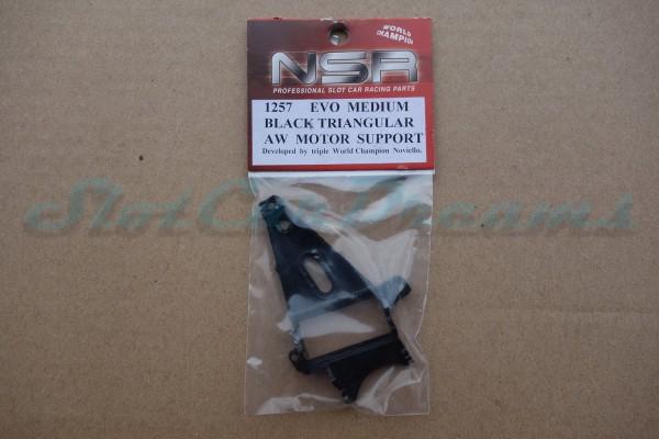 NSR Motorhalter AW Triangular Medium Black