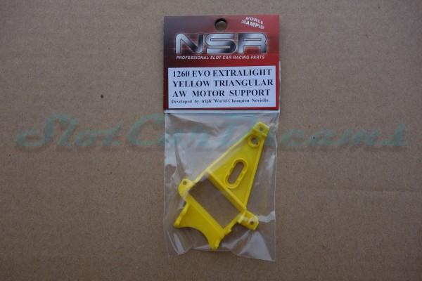 NSR Motorhalter AW Triangular Exttralight Yellow