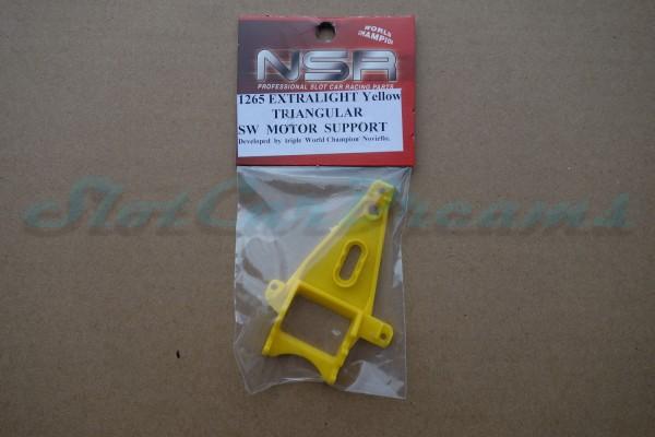 NSR Motorhalter SW Triangular Extralight Yellow