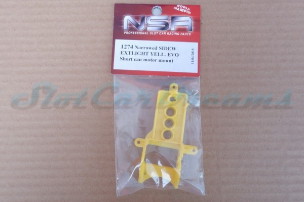NSR Motorhalter SW EVO Extralight Yellow