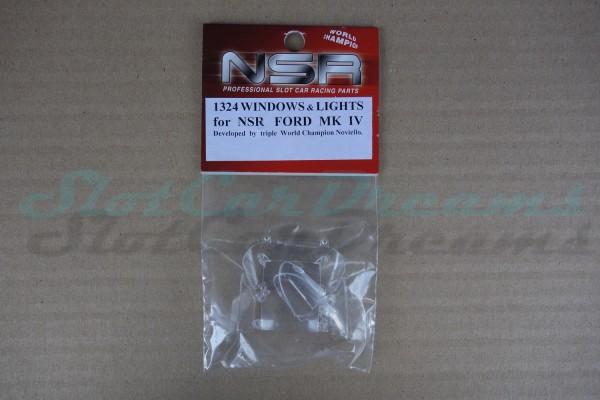 NSR Glas Ersatzset Ford MK IV