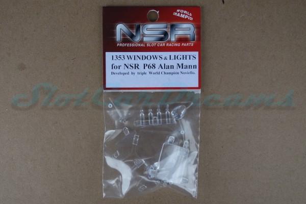 NSR Glas Ersatzset Ford P68