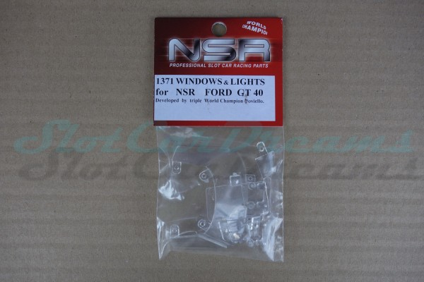 NSR Glas Ersatzset Ford Gt40