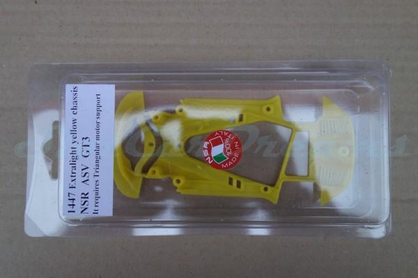 NSR ASV GT3 Chassis Triangular EVO2 Exttralight Yellow