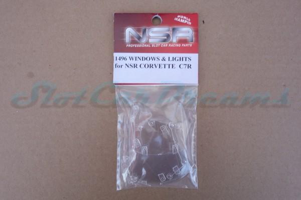 NSR Glas Ersatzset Corvette C7.R