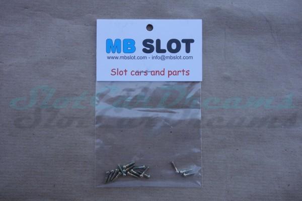 """MB Slot Metrische Schraube 2,1 x 9,7 mm => """"Set"""""""