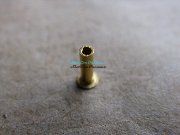 "Slotdevil Leitkielsteckhülse Ø1,48 x 5,2 mm Messing vergoldet =>  ""Stück"""