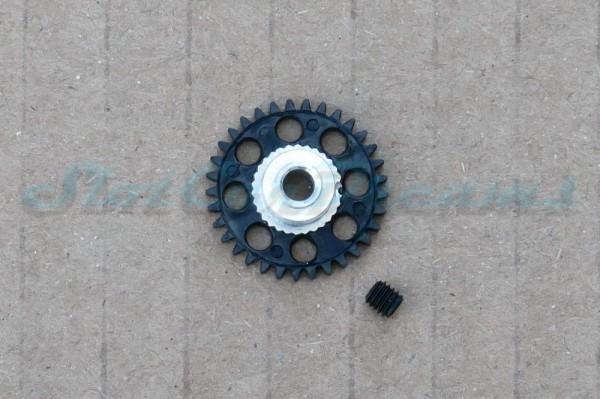 Slotdevil Spurzahnrad Kunststoff 33 Zähne für 3 mm