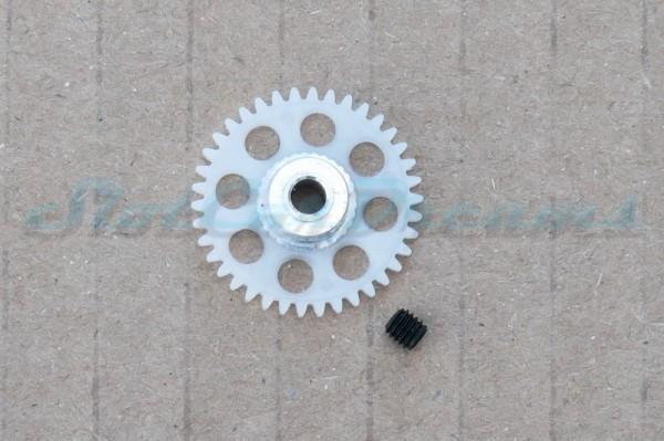 Slotdevil Spurzahnrad Kunststoff 38 Zähne für 3 mm