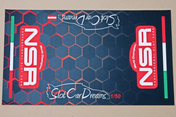 NSR Arbeitsplatzunterlage SCD Branding Limited Edition