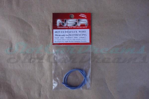 """NSR Motor/Schleiferkabel Silikon Ultraflex 30 cm => """"Stück"""""""