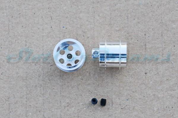 "NSR Stegfelge 14,3 x 12,2 mm für Achse 2,35 mm ALU => ""Paar"""