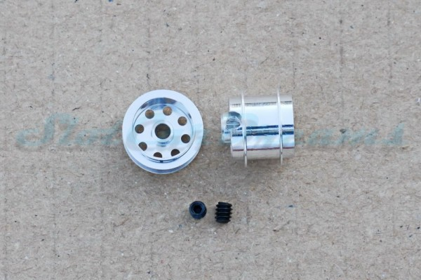 "NSR Stegfelge 12,8 x 10 mm für Achse 2,35 mm ALU => ""Paar"""