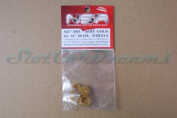 """NSR Felgeneinsatz BBS Gold 16er => """"Stück"""""""