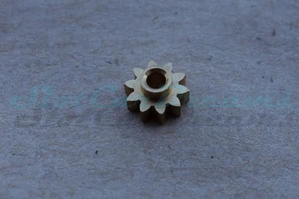 "NSR Motorritzel SW 6,5 mm 10 Zähne Messing => ""Stück"""