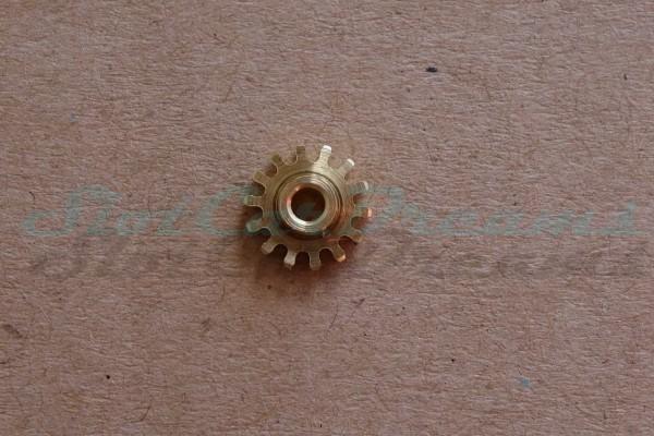 """NSR Motorritzel AW 7,5 mm 14 Zähne Messing => """"Stück"""""""
