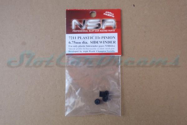 "NSR Motorritzel SW 6,75 mm 11 Zähne Kunststoff => ""Stück"""