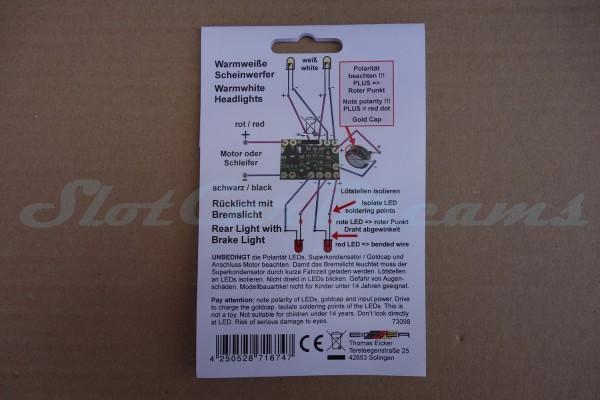 Eicker Lichtsset Warm-Weiß 3 mm LED