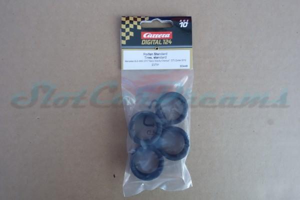 """Carrera 124 Mercedes SLS Reifen => """"Set"""""""