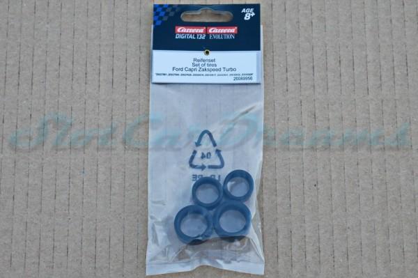 """Carrera 132 Reifen Ford Capri Zackspeed => """"Set"""""""