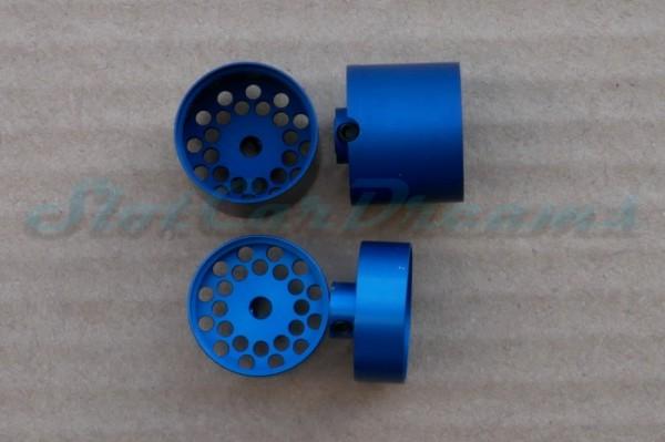 """Slotpoint Flachfelgen Design blau 20er für 3 mm => """"Set"""""""