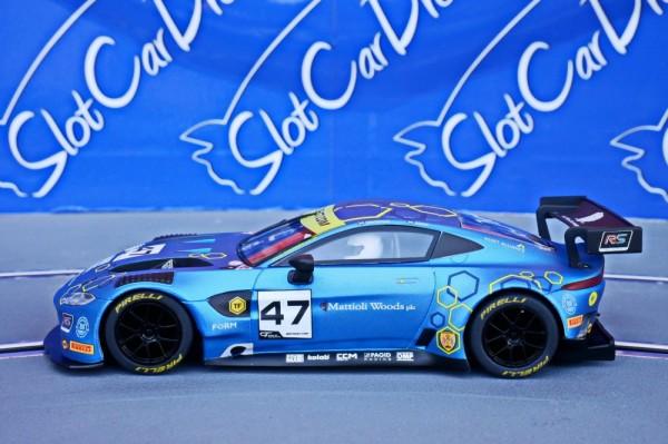 Aston Martin GT3 TF Sport British GT 2019 #47