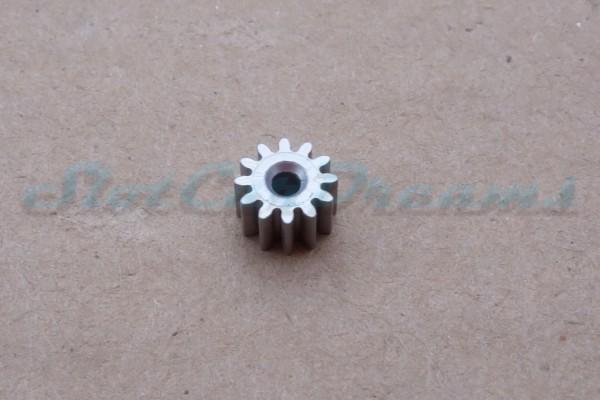 """Slot.it Motorritzel SW/AW 7 mm 12 Zähne """"Alu light""""=> """"Stück"""""""