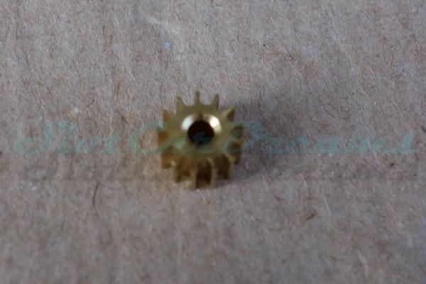 """Slot.it Motorritzel SW/AW 6,5 mm 13 Zähne Messing => """"Stück"""""""