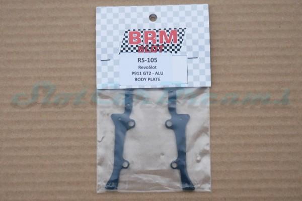 "RevoSlot Porsche GT2 Bodyplatte ""Set"""