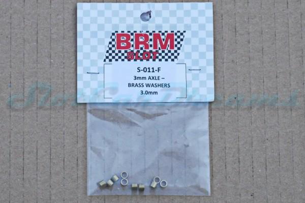 """BRM Achsdistanz 3 mm für 3 mm Achse => """"Set"""""""