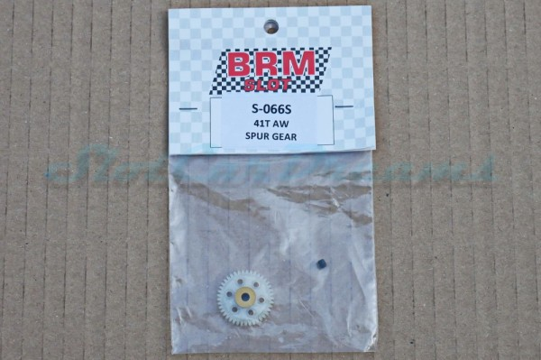 BRM Schrägzahnrad Kunststoff 41 Zähne für 3 mm