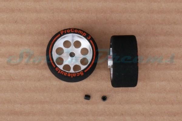 "Scaleauto ProComp 3 Rad 27,5 x 13 mm => ""Paar"""