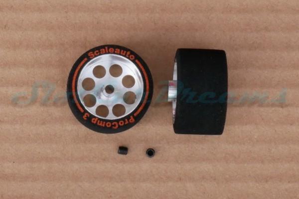 "Scaleauto ProComp 3 Rad 27,5 x 16 mm => ""Paar"""