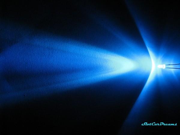 "LED 3 mm Blau klar => ""Stück"""