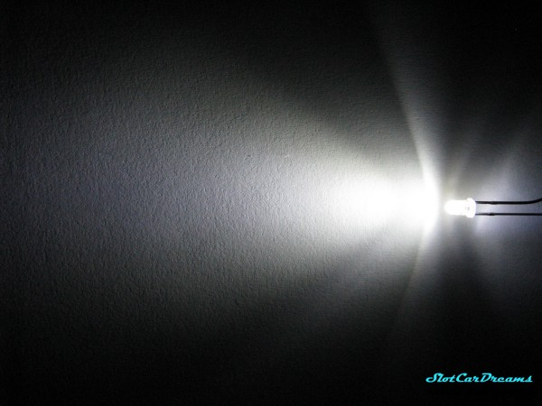 """LED 3 mm Xenon-weiß klar => """"Stück"""""""