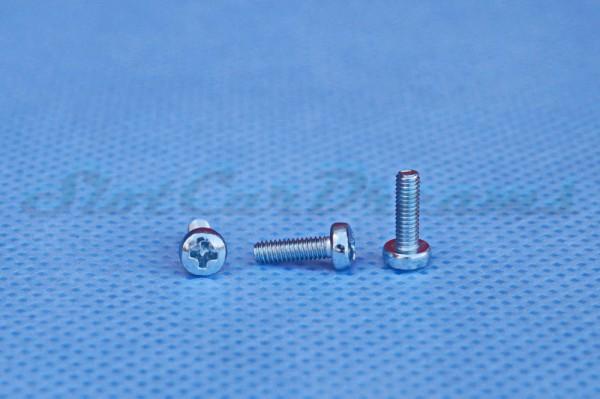"SCD Schraube M2,5 x 8 mm =>  ""Stück"""