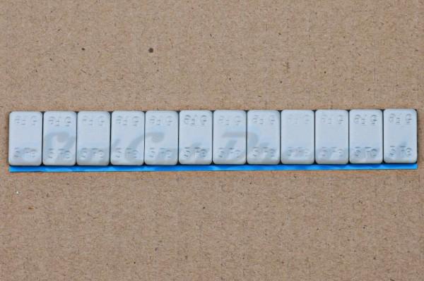 SCD Klebegewicht Stahl 12er Riegel zu á 5 g