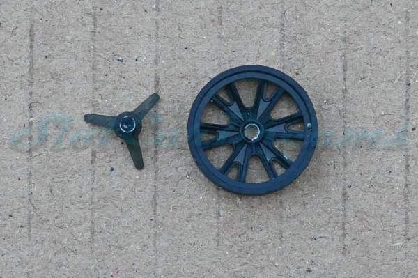 "Felgeneinsatz GT40 Schwarz 16,2 mm => ""Stück"""