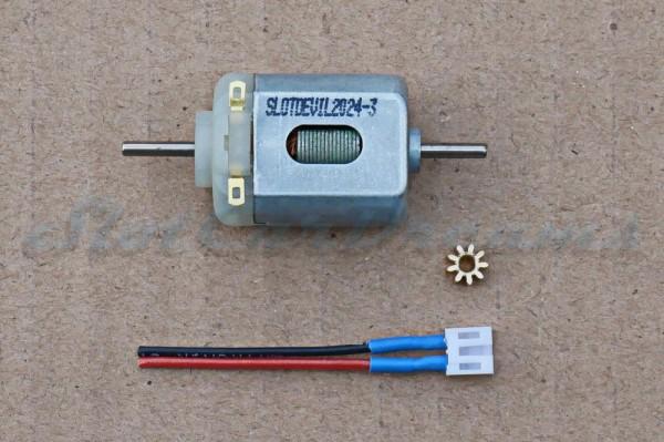 "SCD Motor / Ritzel / Kabel Kit Carrera 132 => ""Set"""
