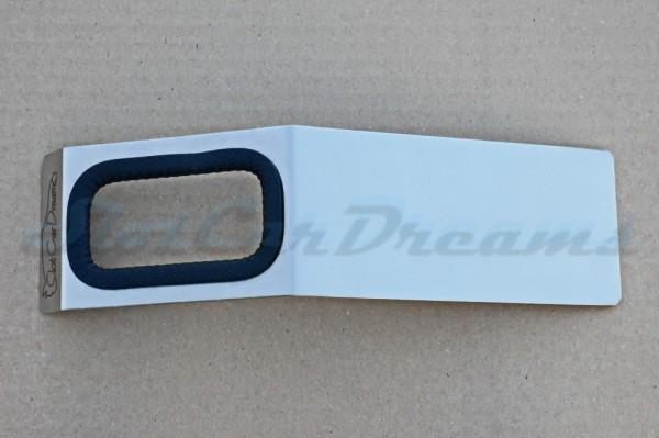 SCD Reglerhalter aus Edelstahl mit Branding