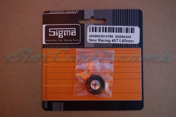 Sigma Spurzahnrad Kunststoff 40 Zähne für 3 mm