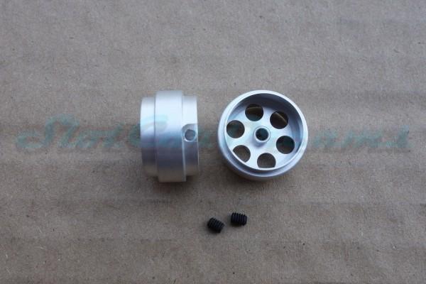"""Sloting Plus Stegfelge 17,2 x 10 mm für Achse 2,38 mm ALU => """"Paar"""""""