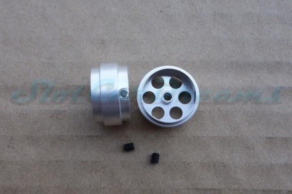 """Sloting Plus Stegfelge 17,9 x 10 mm für Achse 2,38 mm ALU => """"Paar"""""""