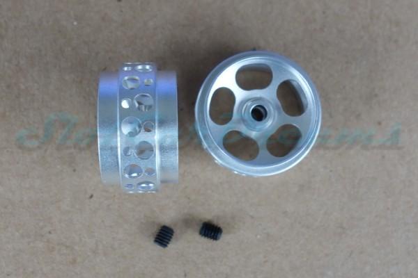 "Sloting Plus Stegfelge Urano 17,8 x 10 mm für Achse 2,38 mm Magnesium => ""Paar"""