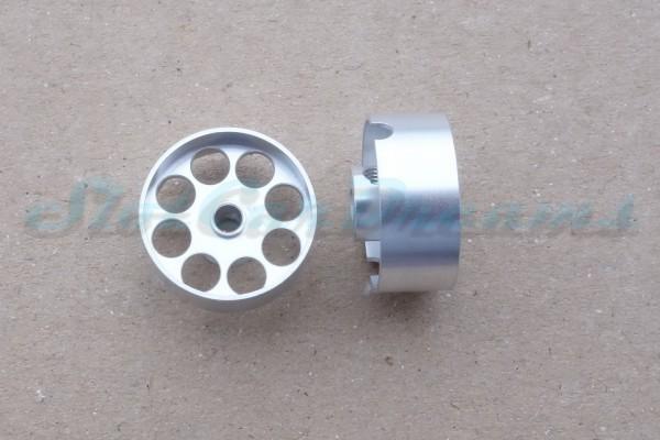 """Sloting Plus Lochflachfelge 19er x 8 für Achse 3 mm ALU => """"Paar"""""""