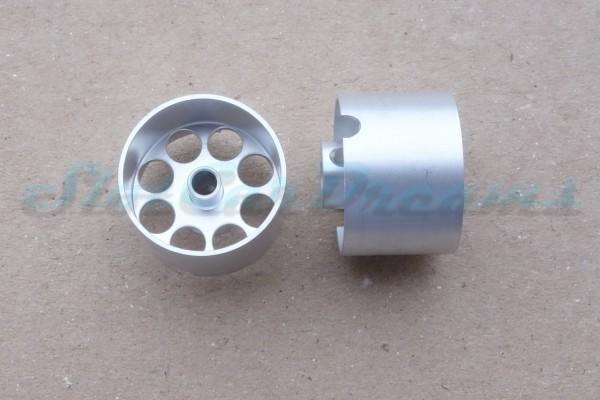 """Sloting Plus Lochflachfelge 19er x 13 für Achse 3 mm ALU => """"Paar"""""""