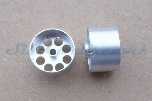 """Sloting Plus Lochflachfelge 21er x 13 für Achse 3 mm ALU => """"Paar"""""""