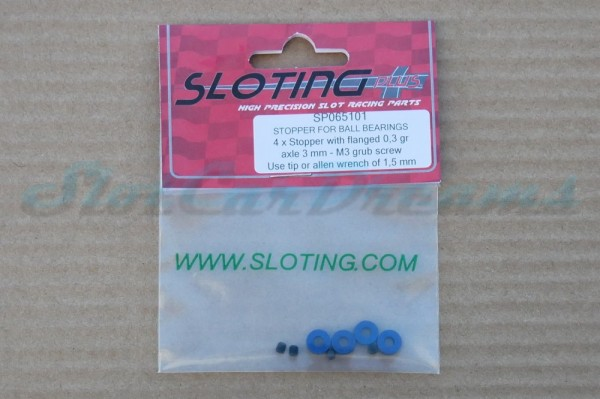 "Sloting Plus Achsstellring Kugellager 3 mm => ""Stück"""