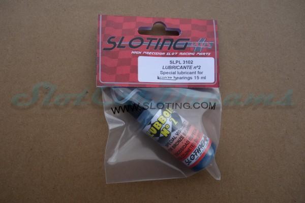 Sloting Plus LUBOIL NO-2 für enge Messing und Bronze Lager